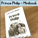 couverture du mini livre consacré au prince Philippe