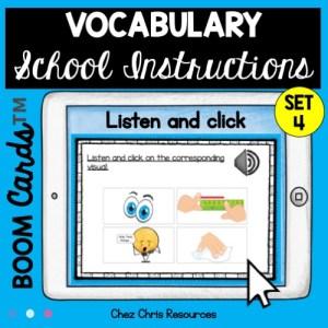Compréhension orale: les consignes de classe en anglais - couverture