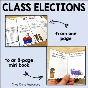 mini-livre- d'une simple page un mini livre de 8 pages