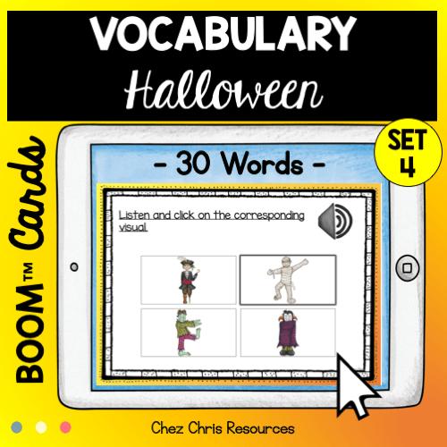 30 mots de vocabulaire d'Halloween en anglais
