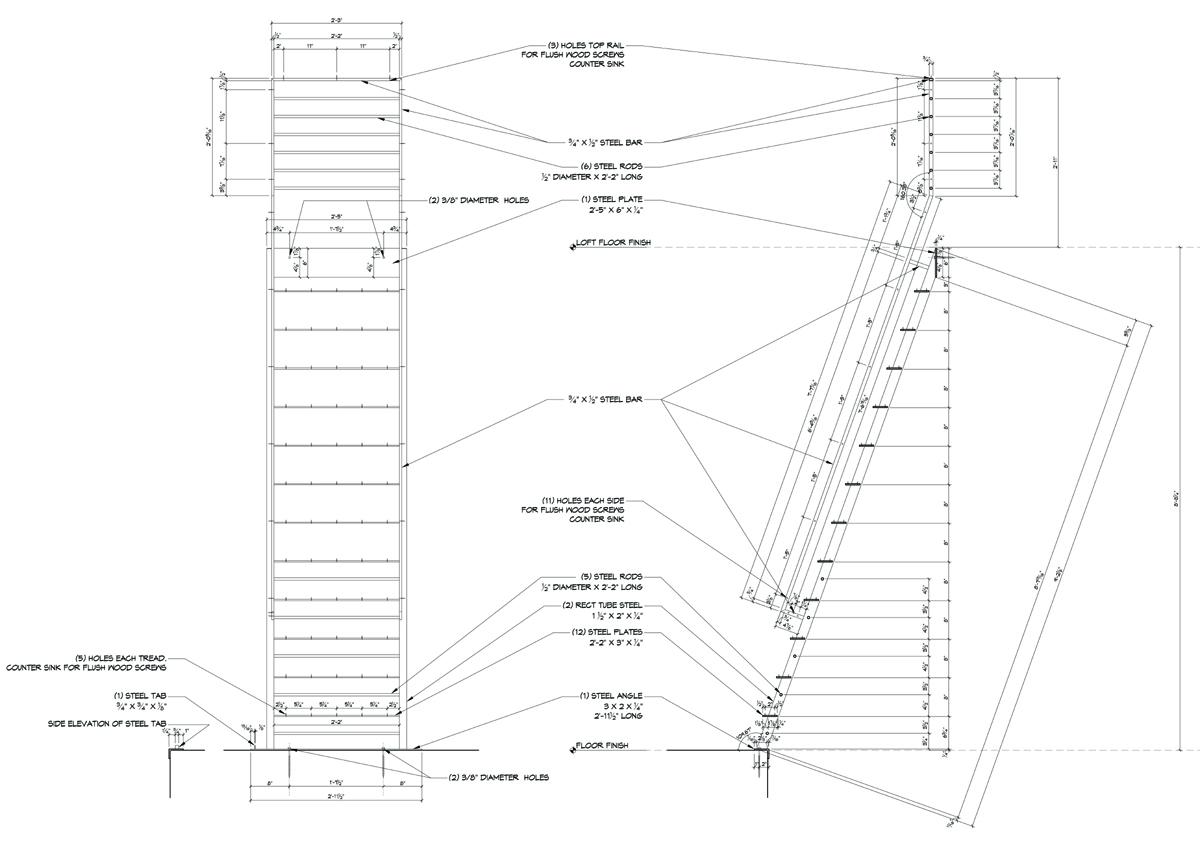 Laddershopdrawings