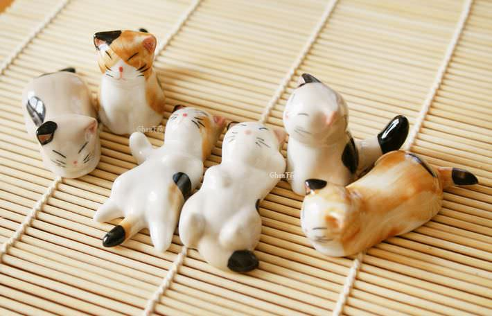 decoration-table-repose-baquettes-ceramique-chat-japonais-kawaii-mignon-chezfee