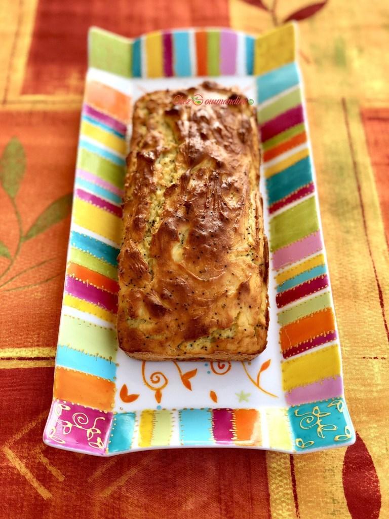 Cake ricotta citron pavot
