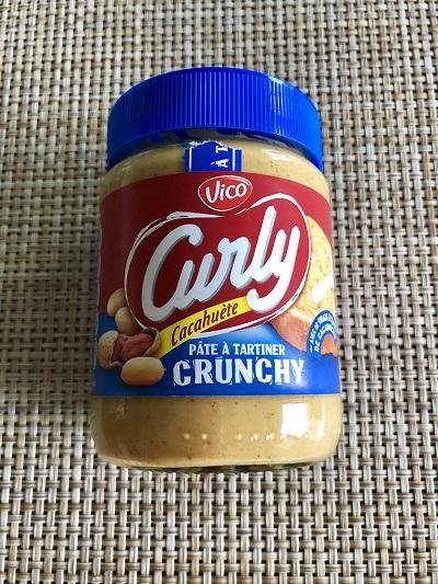 pâte a tartiner Curly crunchy cacahuète