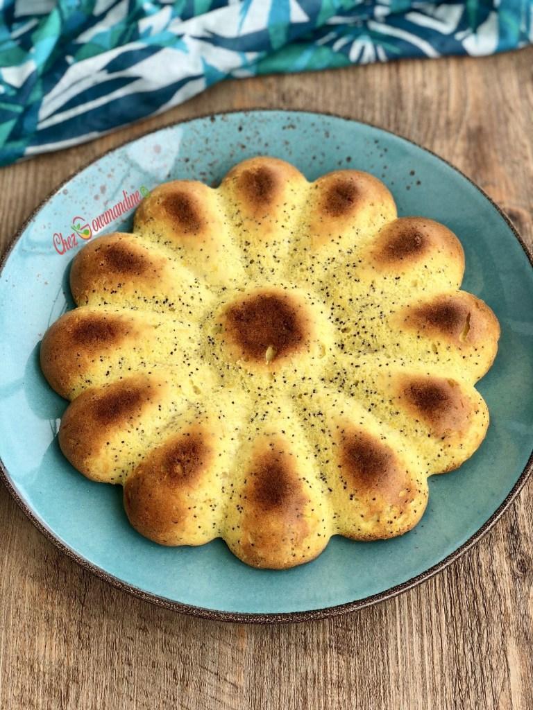 Gâteau du sud citron graines de pavot