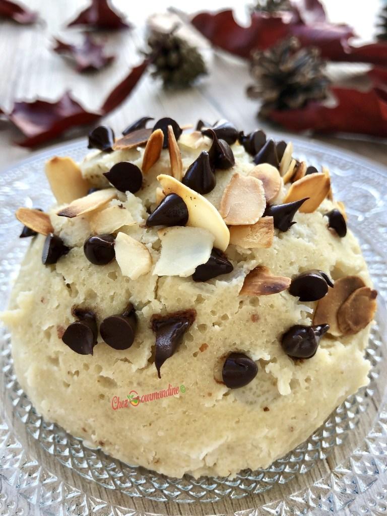 Bowlcake poire amande chocolat