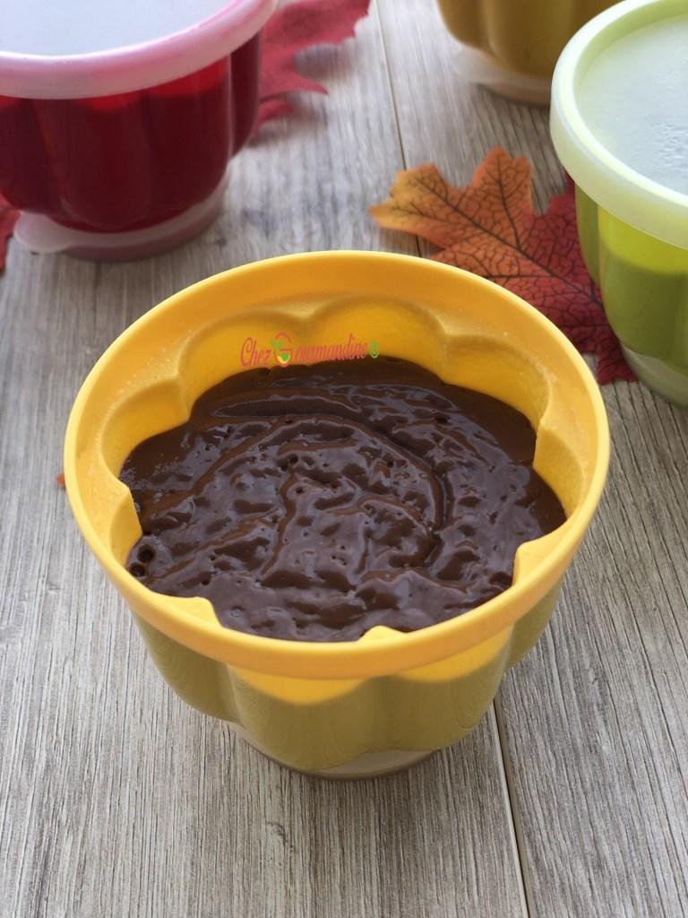 Crème au chocolat régréssive