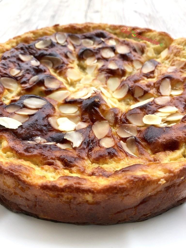 Gâteau poire amande léger