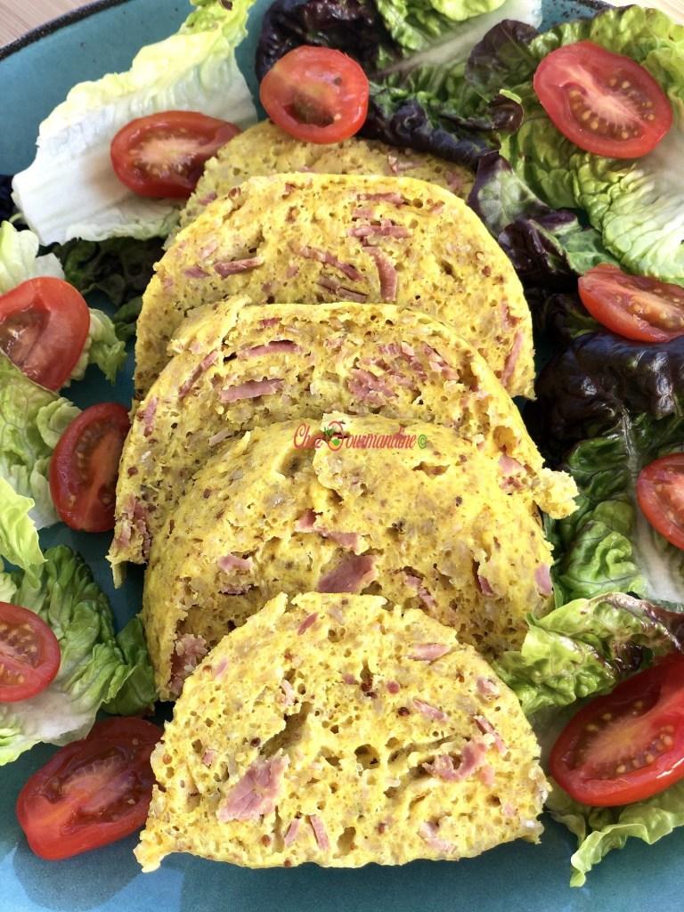 Bowlcake salé jambon sarrasin