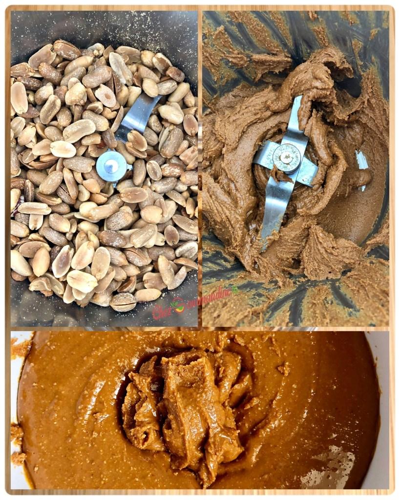 Beurre de cacahuète crunchy