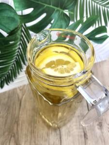 Infusion glacée menthe citron
