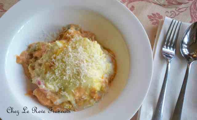 Lasagne fruits de mer (2)