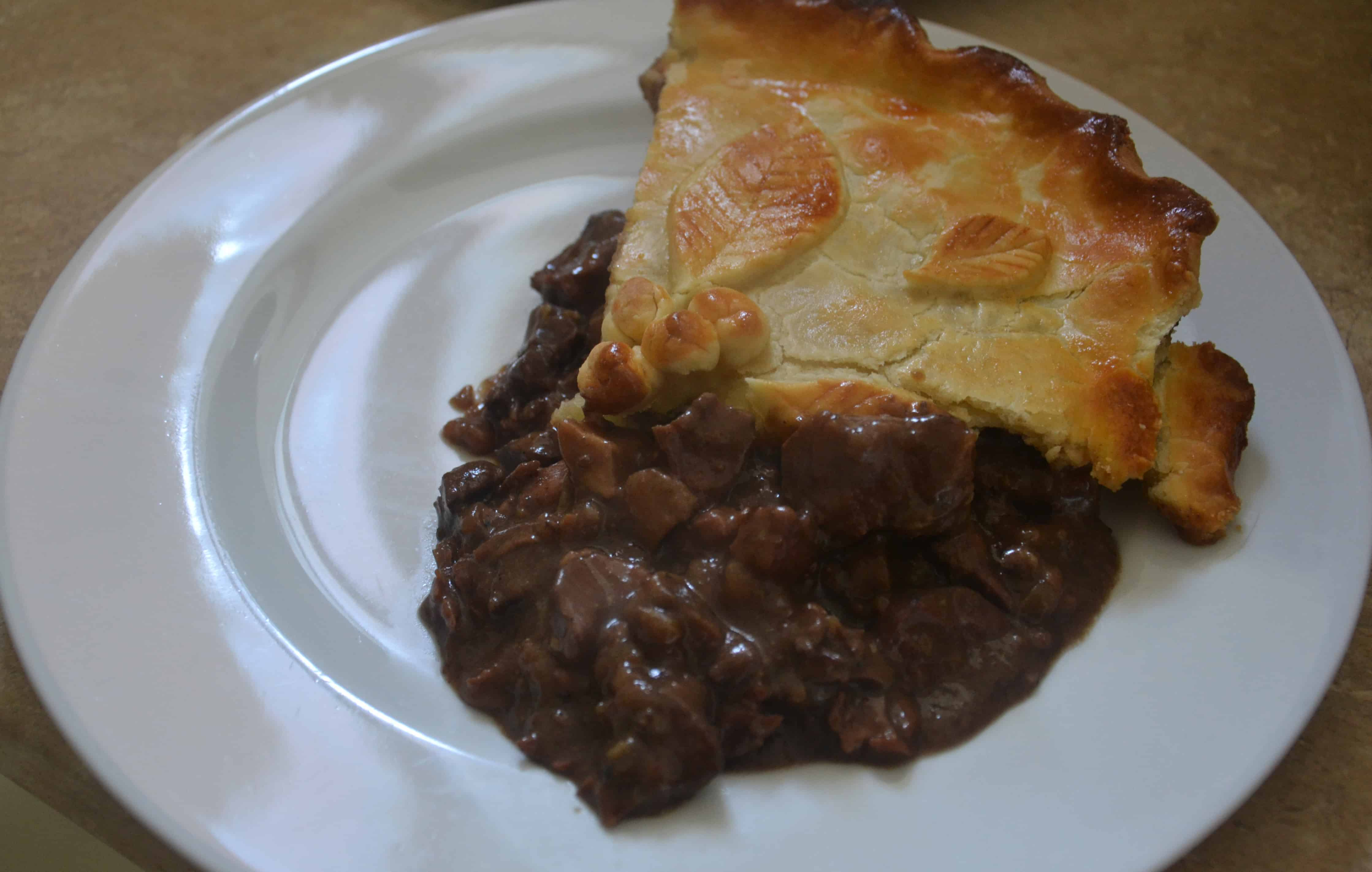Steak and Kidney Pie with Shortcrust Pastry - Chez Le Rêve ...