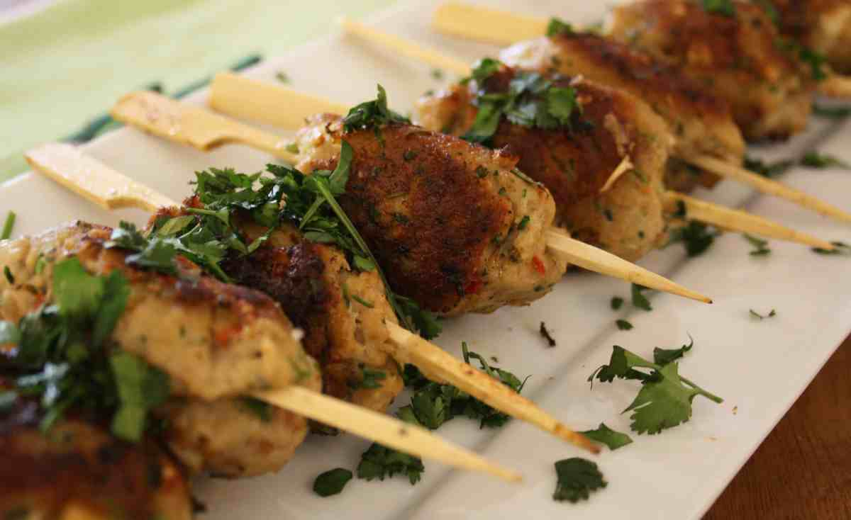 Asian Pork Koftas