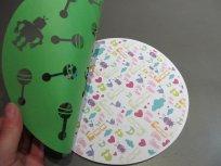 carte de naissance ronde robot 6