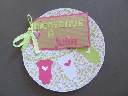 carte de naissance julia