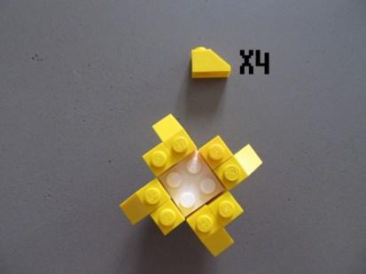 tuto fleur lego 6