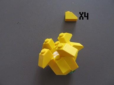 tuto fleur lego 7