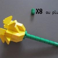 Premier tuto : réaliser une fleur en Lego