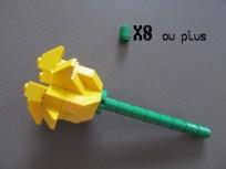 tuto fleur lego 8