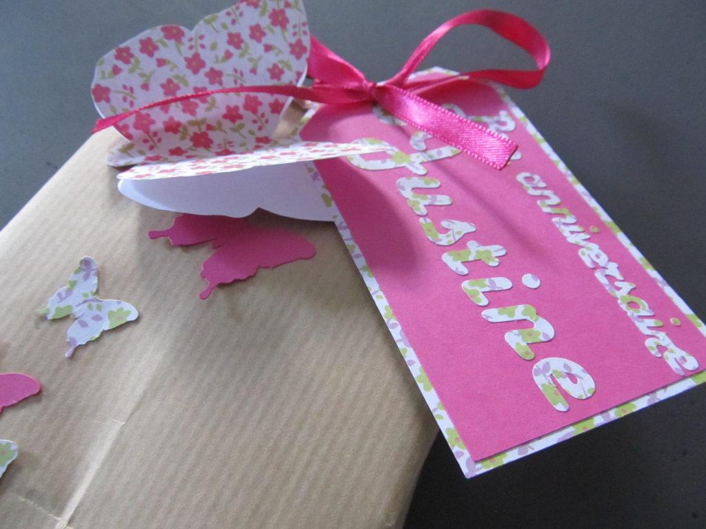Sac en papier décoré