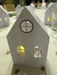 maisonnette illuminée table de noel (3)