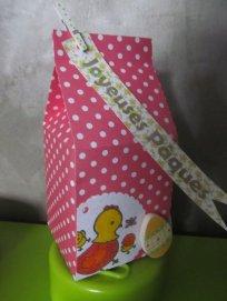 brique de lait décorée