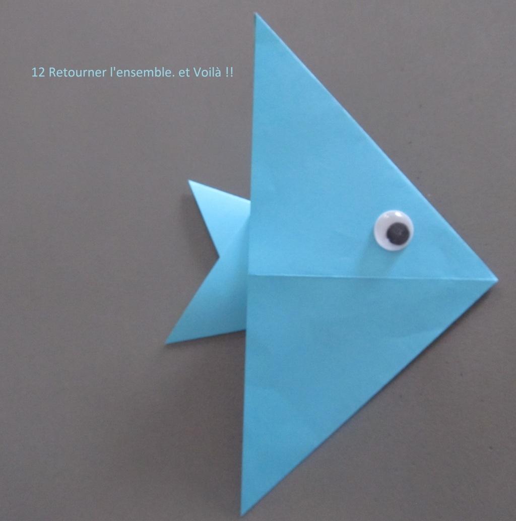 poisson en origami