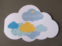 carte de félicitations nuage bleu et jaune (2)