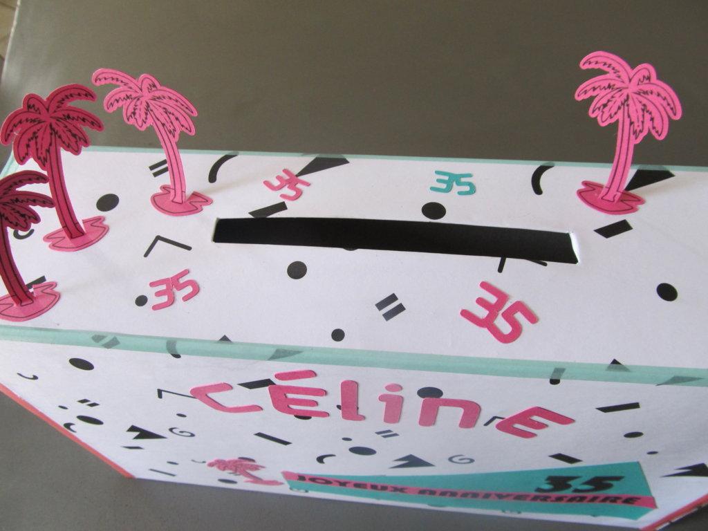 urne anniversaire thème Ibiza (9)