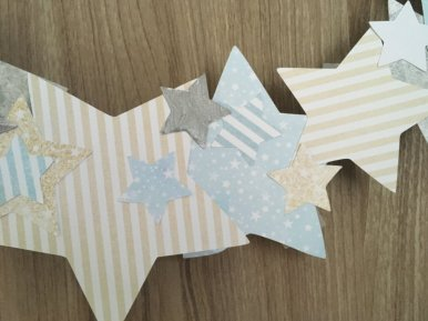 couronne étoile en papier