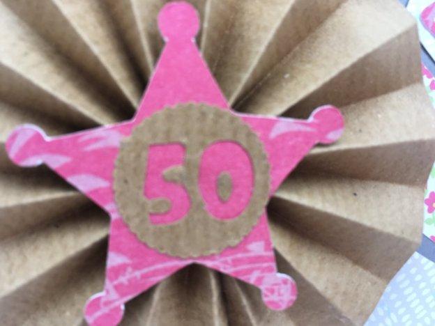 carte chapeau de cowboy anniversaire 50 ans