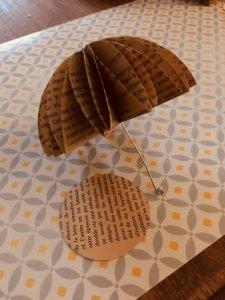 parapluie feuilles d'automne