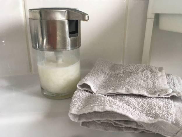 savon pour les mains zéro déchet
