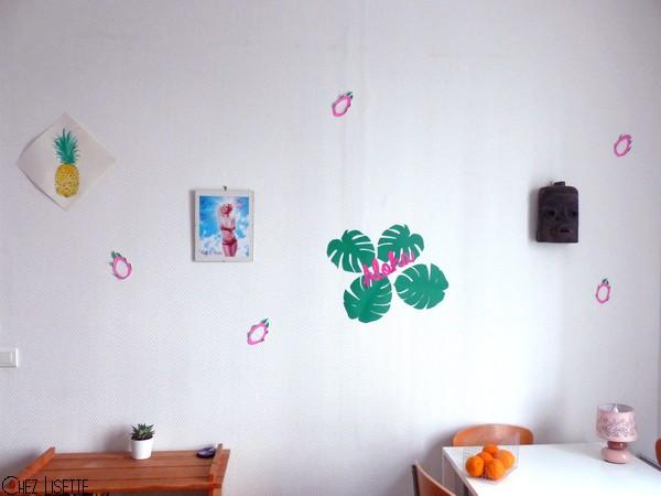 Chez Lisette DIY déco tropicale en papier final