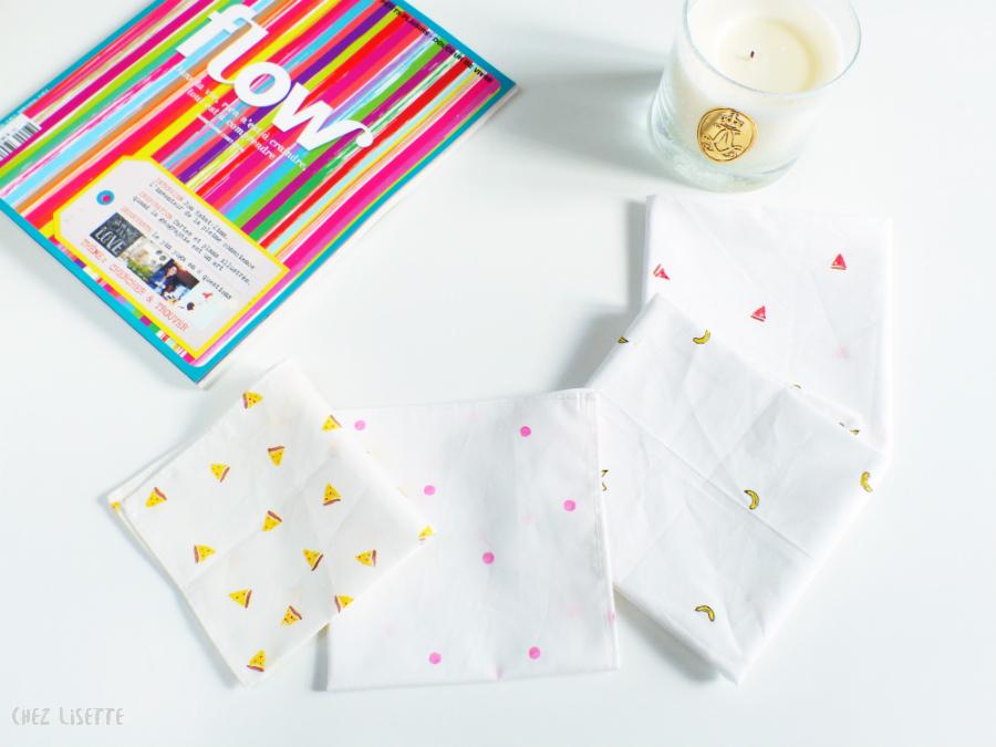 Chez Lisette DIY mouchoirs en tissu 14