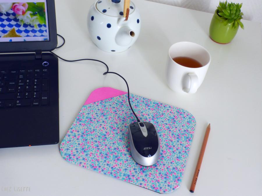 Tapis de bureau edme et tapis de souris mc kee design montréal