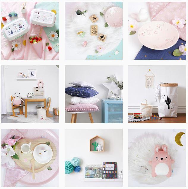 Set design Freaky Family Instagram - Chez Lisette