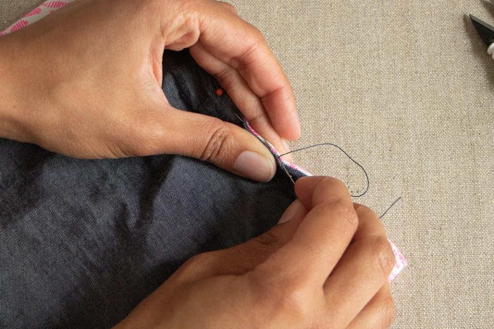 Chez Lisette DIY porte-chéquier 9