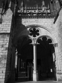 Le porche sud de la cathédrale de Bourges