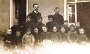 1929, à l'école du Lou