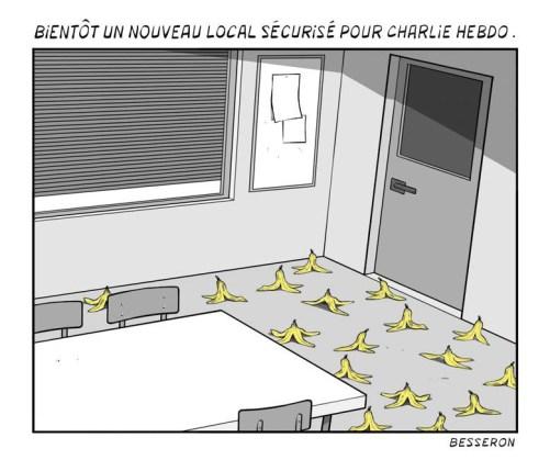La BD est Charlie – Collectif © Multi-éditeurs – 2015 // Dessin de Besseron