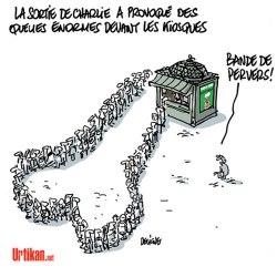 La BD est Charlie – Collectif © Multi-éditeurs – 2015 // Dessin de Deligne