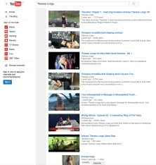 Judging by these videos, Ms. Longo has many strings to her bow...not Mining Engineering though.