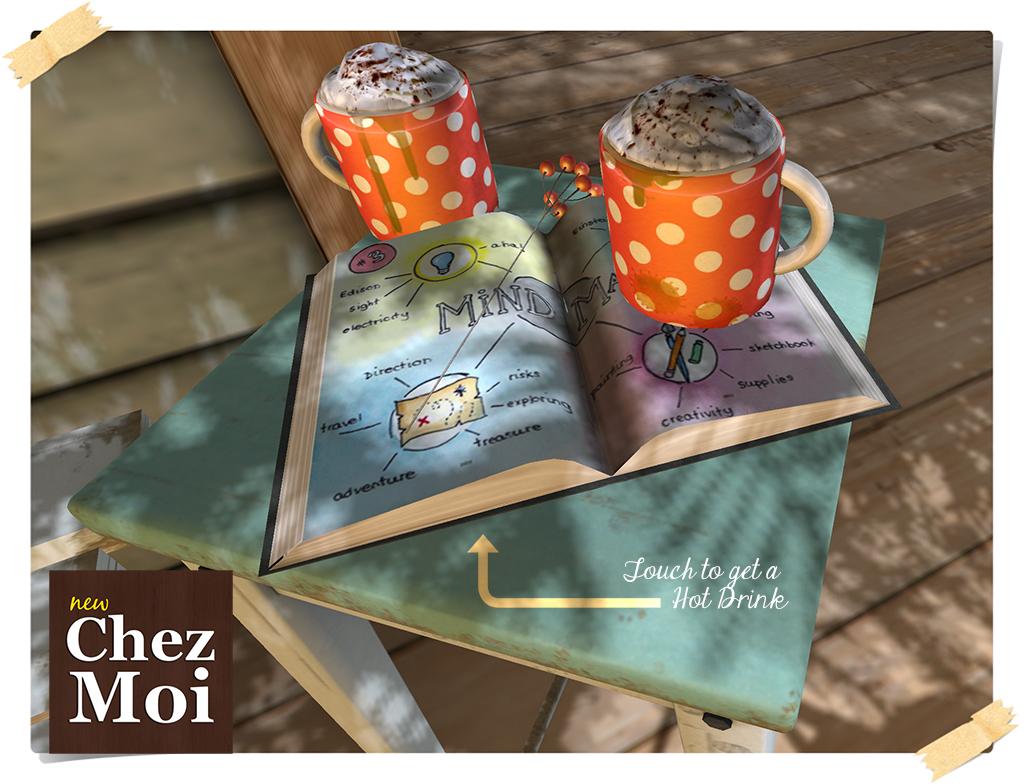 Snuggle Stool & Decor Detail CHEZ MOI