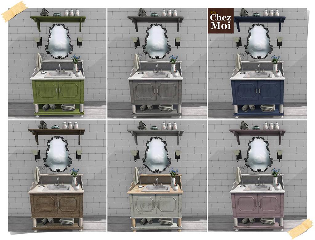 Bathroom Sink Colors CHEZ MOI