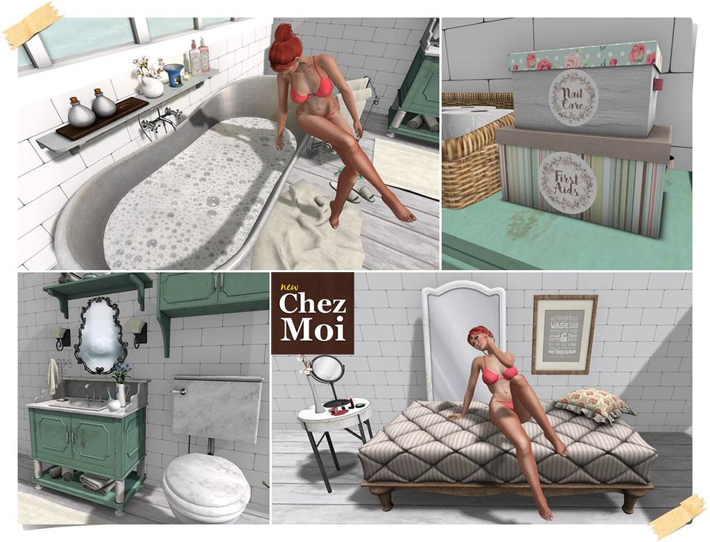 Bathroom Supreme + Vanity Place PG CHEZ MOI