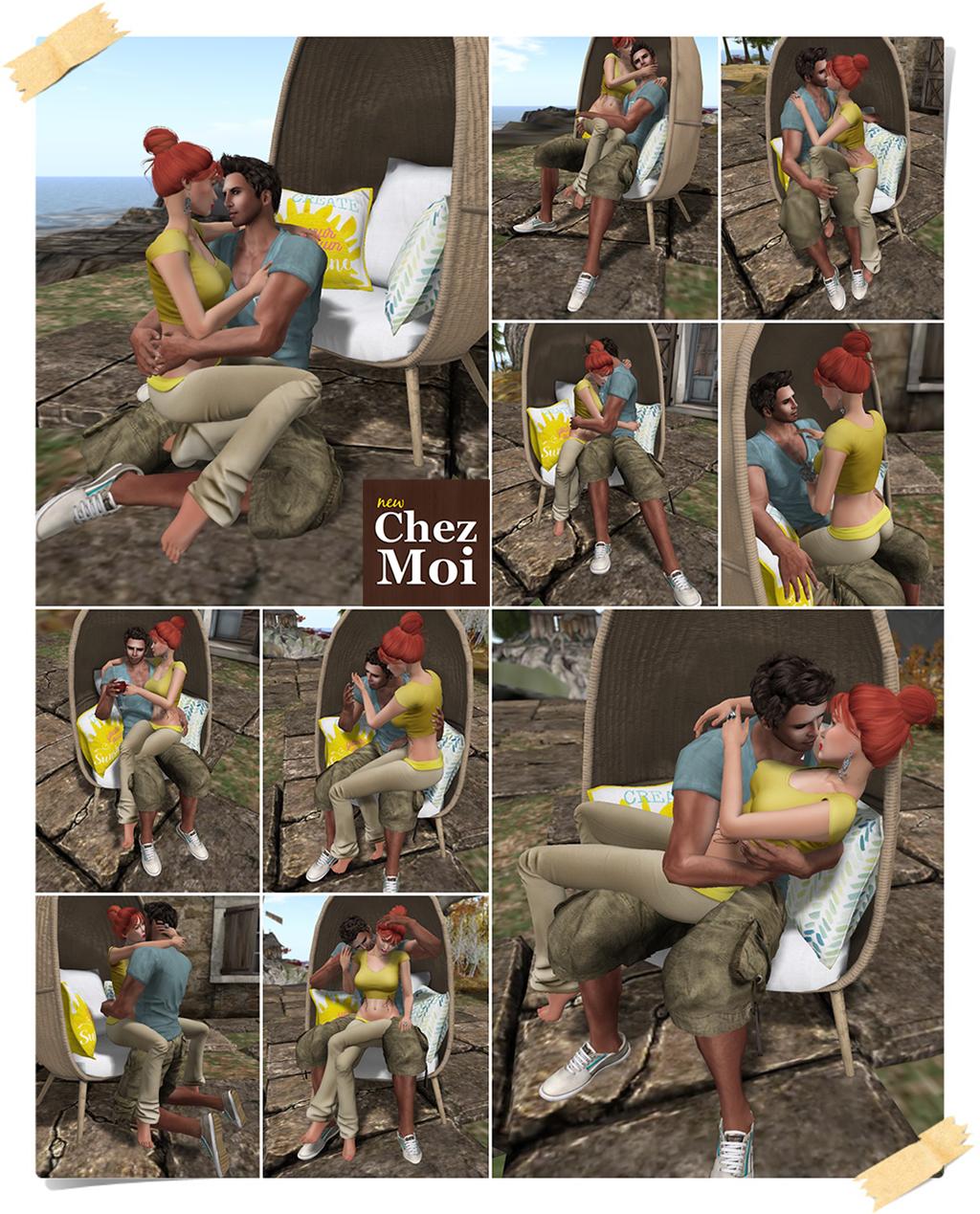 Good Mood Couple Poses CHEZ MOI