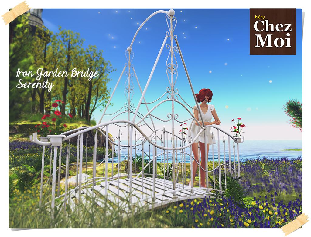 Iron Garden Bridge Ad CHEZ MOI