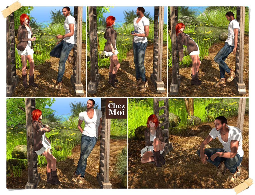 Pergola BirdHouses Wooden Single Poses CHEZ MOI